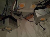 450w zelf gefabriceerde Led verlichting, Cree Xlamp COB chips
