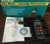 CO2 meter, Extech CO250, Portable Binnenklimaatmeter.