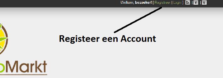 Account registreren
